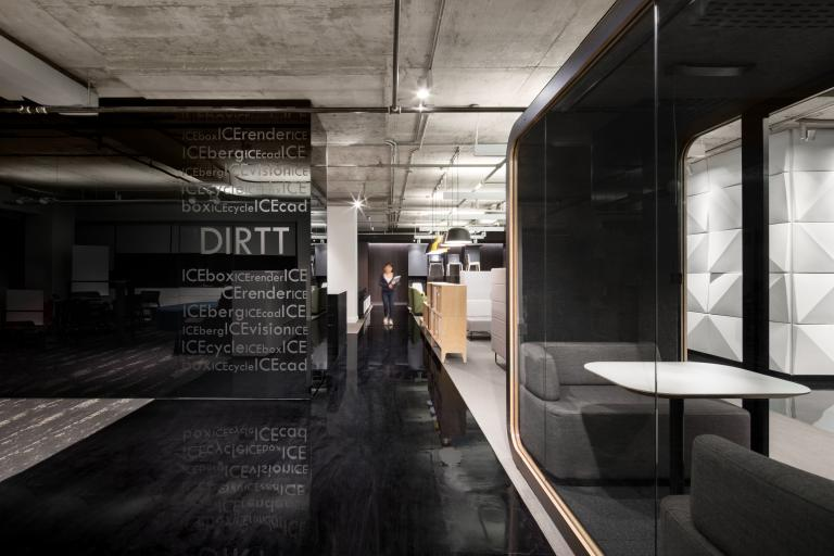 d|vision21 showroom, Montreal, 2017