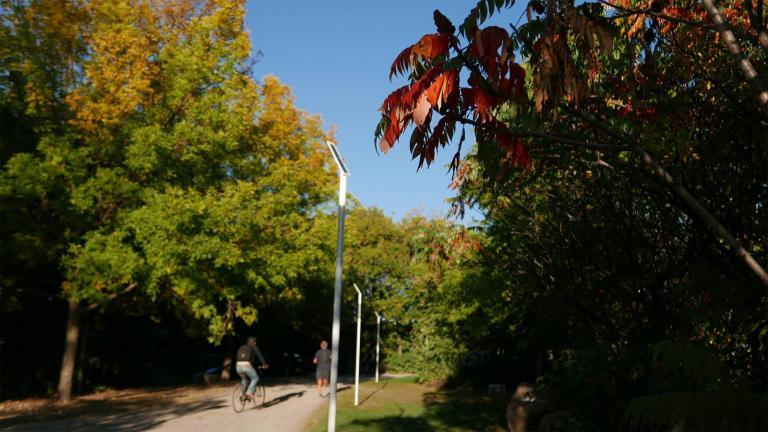 Intervalle, Jalon Solaire, Chemin Vert, Montréal, 2016