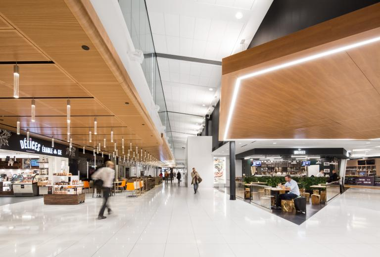 Pierre-Elliott Trudeau International Airport, Greedy Halls, Montréal, 2015