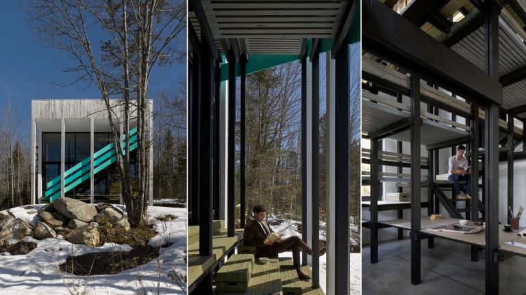 Lac Jasper residence, Chertsey, Quebec, 2014