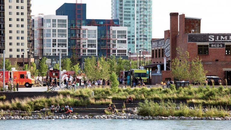 RiverWalk Urban Waterfront, Calgary, 2012