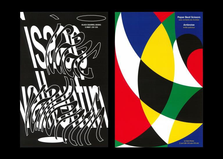 Concert Posters, Montreal, 2017