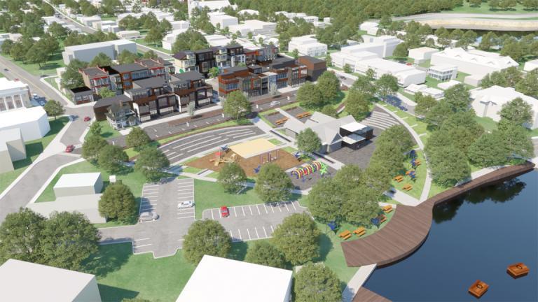 Plan directeur de design urbain, Saint-Agathe-des-Monts, Québec, 2016
