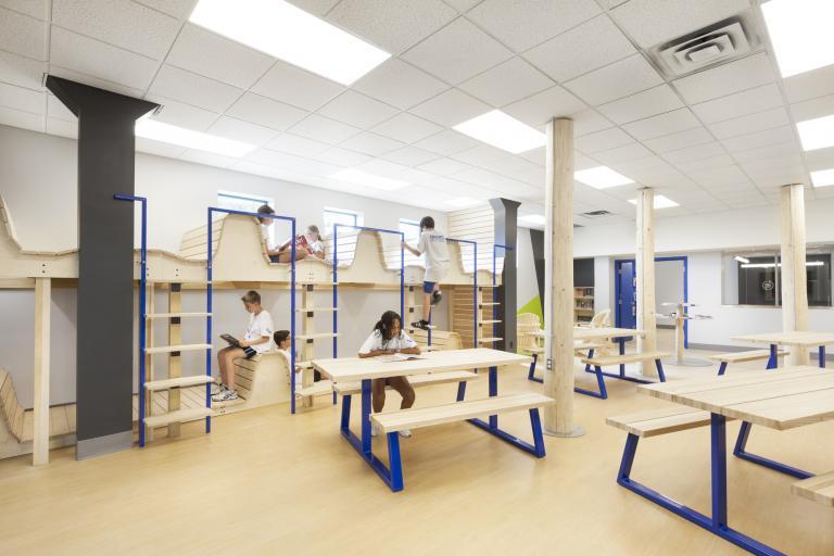 Bibliothèque Collège Ville-Marie, Montréal, 2017