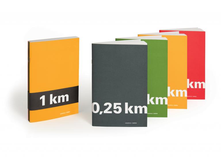 Creative stationery, KM series, Montréal, 2011