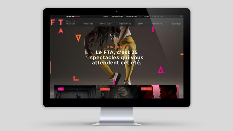 Site web Festival TransAmériques, Montréal, 2016
