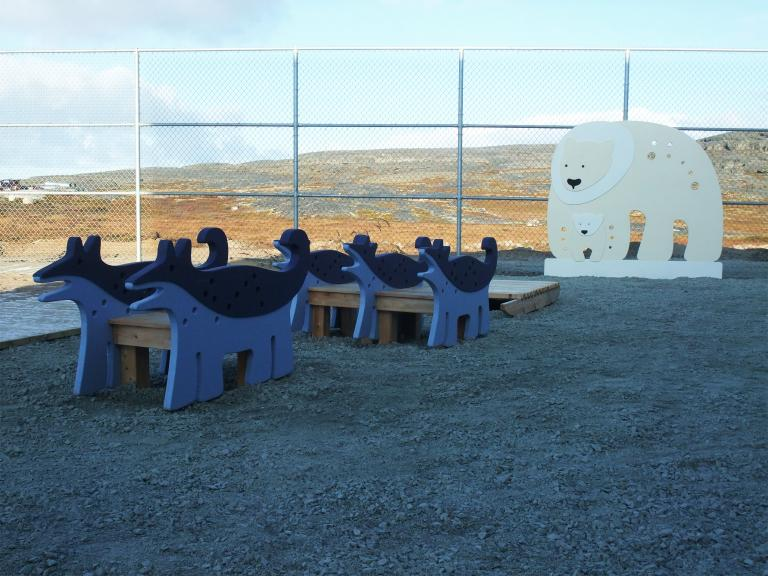 Natturaq childcare centre, Inukjuak, 2014
