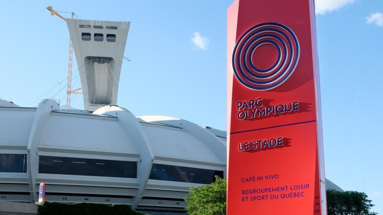 Modules signalétiques, Parc olympique, Montréal, 2017