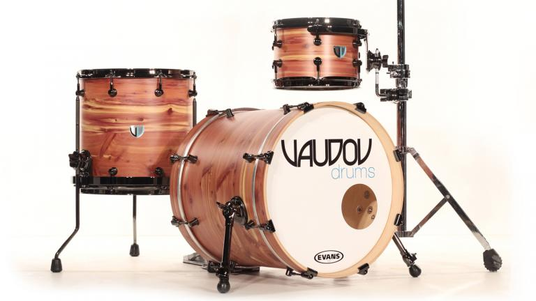 Batterie Vaudou drums, Magog, Québec, Canada, 2014