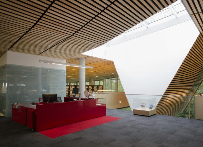 Bibliothèque du Boisé, Montréal, 2013