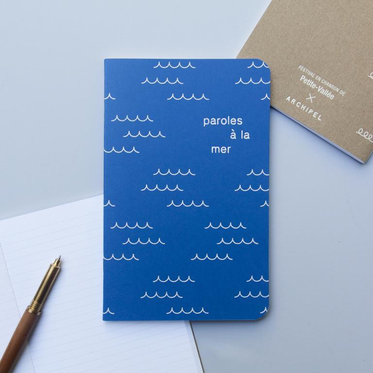 Notebooks for the Festival en chanson de Petite-Vallée, Petite-Vallée, 2018