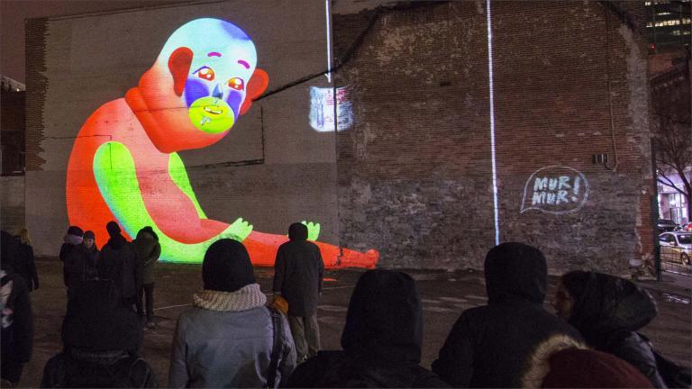 Mur Mur, Concept and realisation, Montréal, 2018