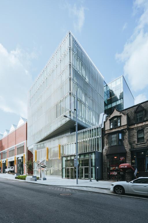 Pavillon pour la paix Michal et Renata Hornstein, Musée des beaux-arts de Montréal - Montréal - 2016