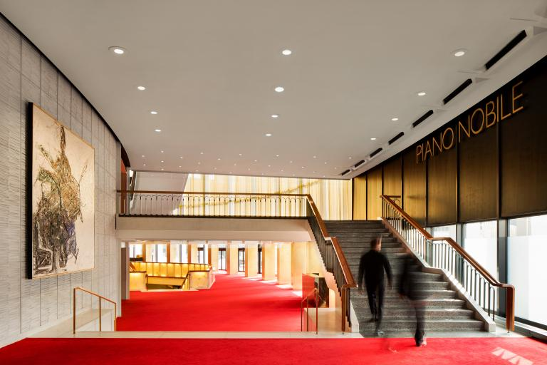 Renovation of the Wilfrid-Pelletier Performance Hall, Montréal, 2016