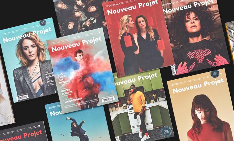 Nouveau Projet, Direction artistique du magazine, 2012 à aujourd'hui