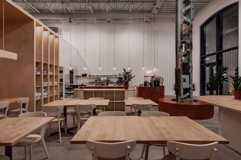 Café Station W, Montréal, 2018