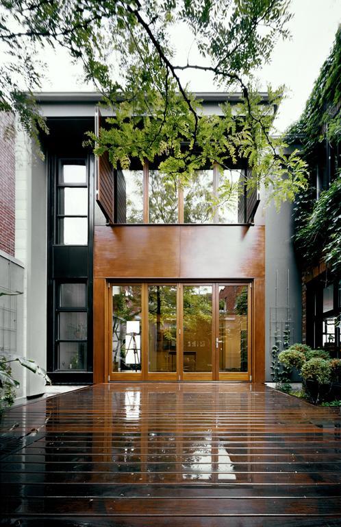 Maison en U, Montréal, 2008
