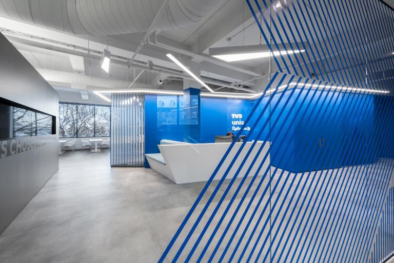 Bureaux de TV5, Montréal, 2018