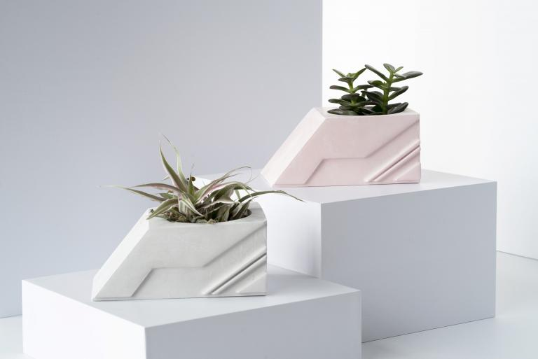 Square Planter, Brut Collection, 2019