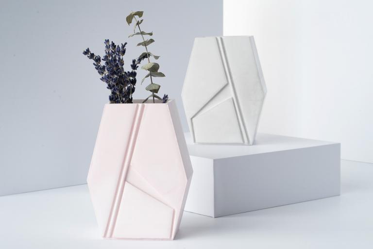 Flower Vase, Brut Collection, 2019