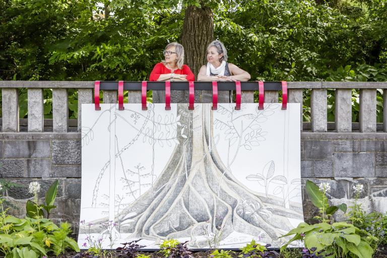 Exhibition at Jardin botanique de Montréal, 2018