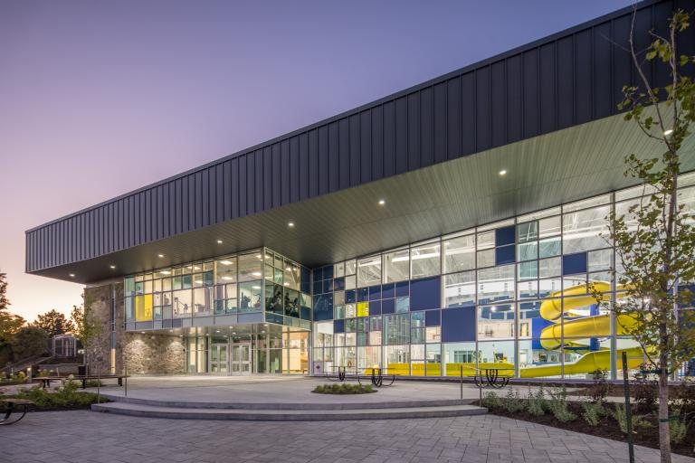 New Laurie-Ève-Cormier Aquatic Complex, Boucherville, 2017