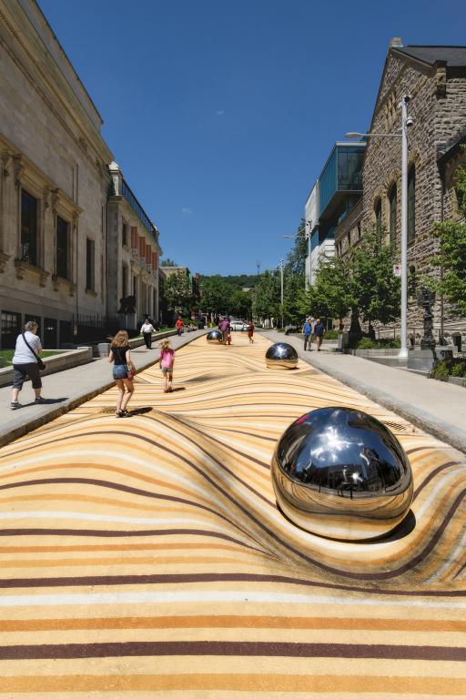 Moving Dunes, Montréal Museum of Fine Arts, 2018