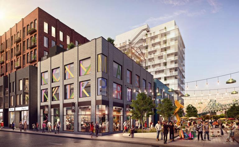 Esplanade Cartier, Montréal, 2020