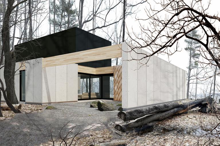 Maison Lac Archambault, Saint-Donat, 2019