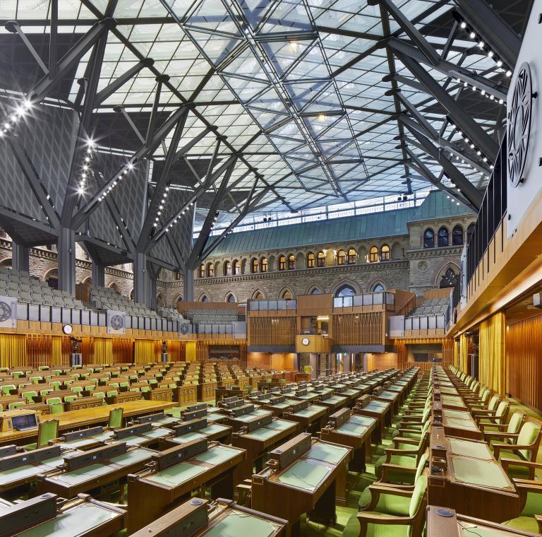 Édifice de l'Ouest du Parlement, Ottawa, 2018