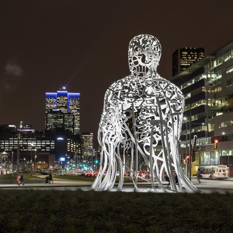 Source, Jaume Plensa, Montréal, 2017