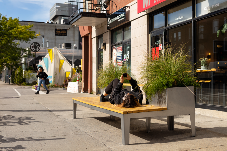 Bancs et îlots, Montréal, 2019