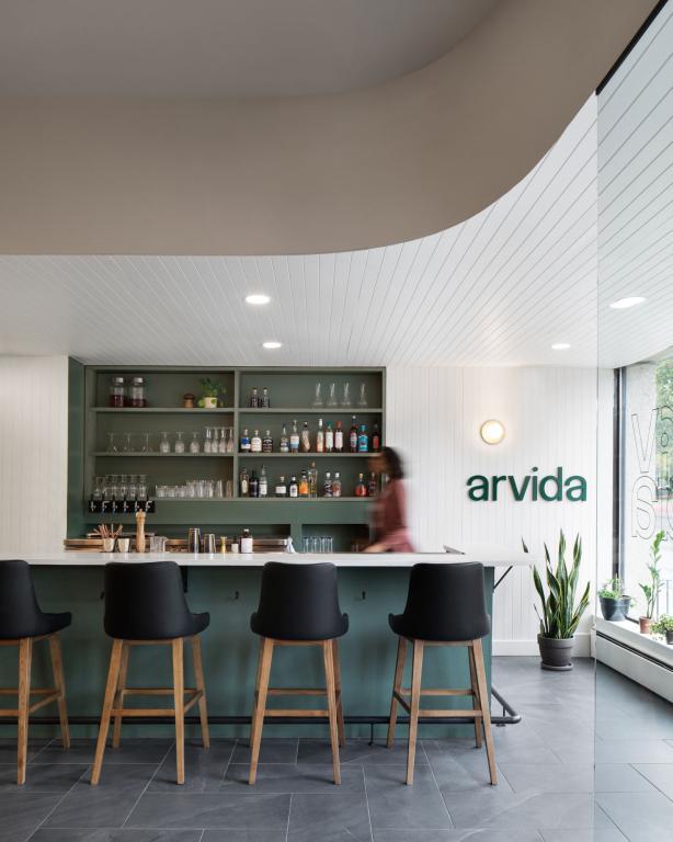 Restaurant Arvida, Granby, 2020