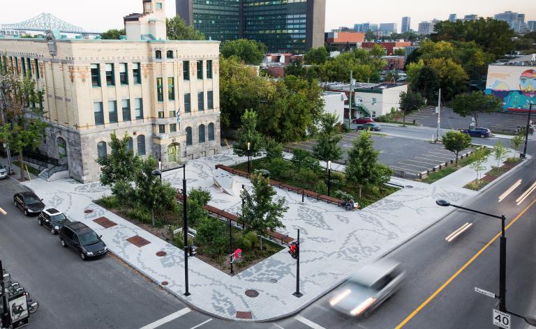 Place Joseph-Venne, Montréal, 2016