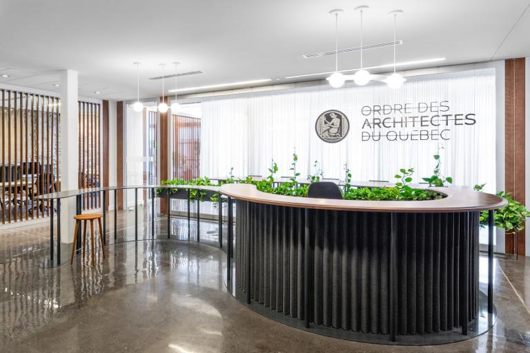 Bureaux de l'OAQ, Montréal, 2020