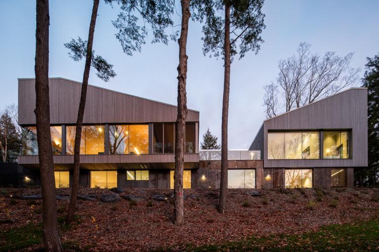 Maison au lac Memphrémagog, Cantons de l'Est, 2020