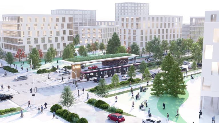 LÉEO - Mise en valeur du corridor Taschereau, Longueuil, 2020