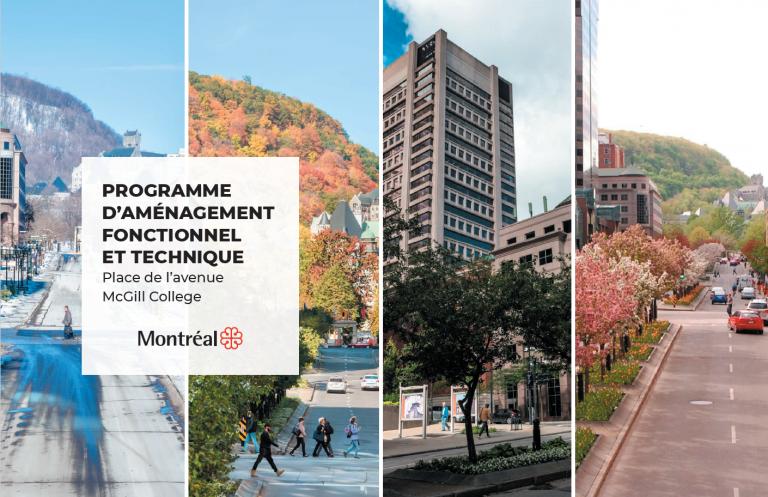PAFT, Place de l'Avenue McGill College, Montréal, 2020