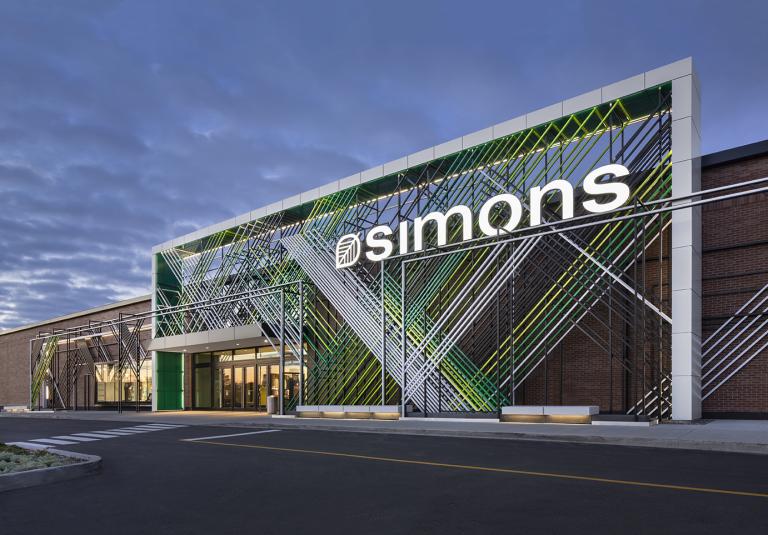 Simons, Galeries de la Capitale, Ville de Québec, 2018