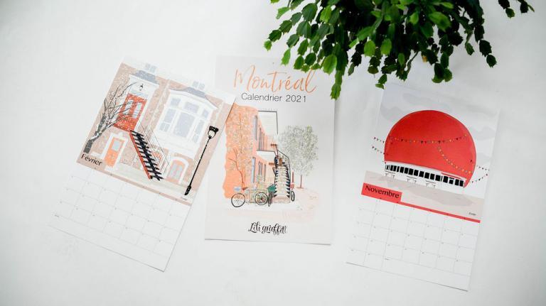 Calendar Montréal, 2021