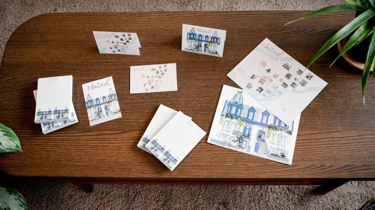 Affiches, bloc-notes et cartes de souhaits Montréal, 2021