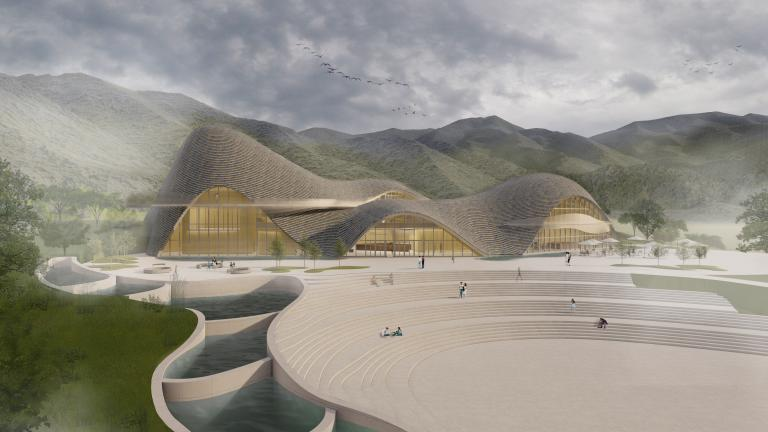 Tourist Service Center, Lishui, 2021