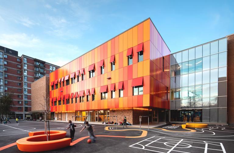 Expansion, École Christ-Roi, Montréal, 2021