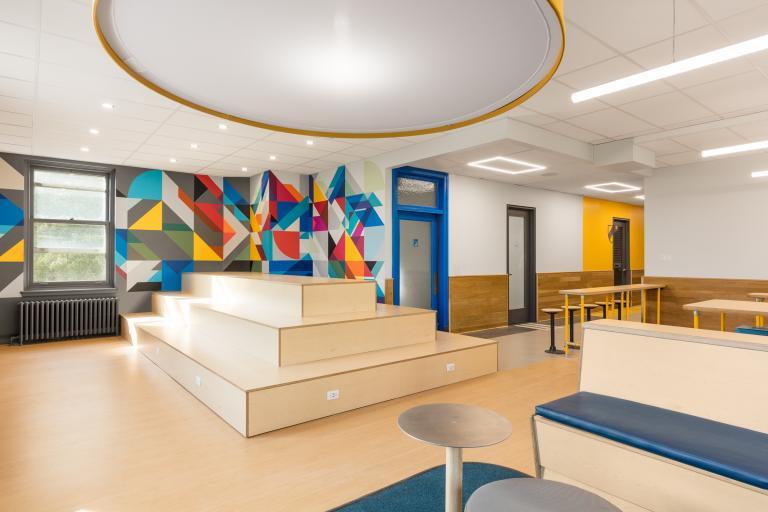 3e Étage, Collège Sainte-Anne, Montréal, 2019