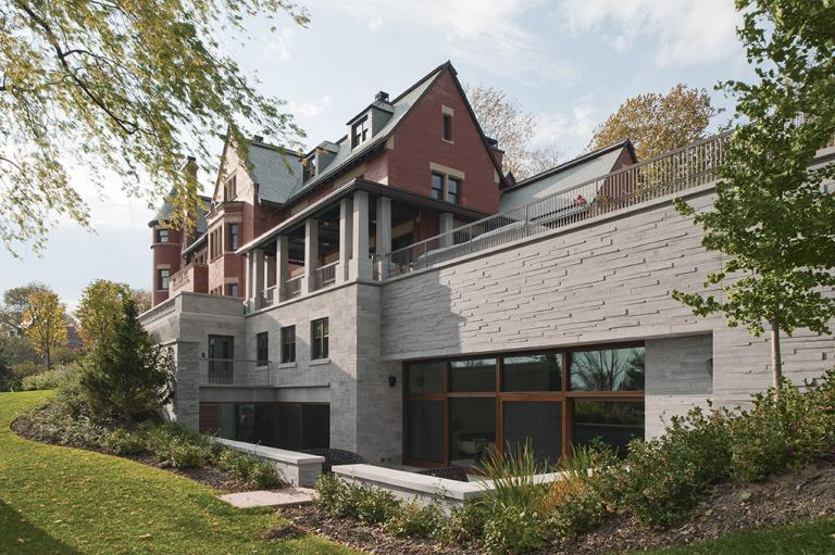 Restauration, rénovation et agrandissement, Maison patrimoniale, Westmount, 2011
