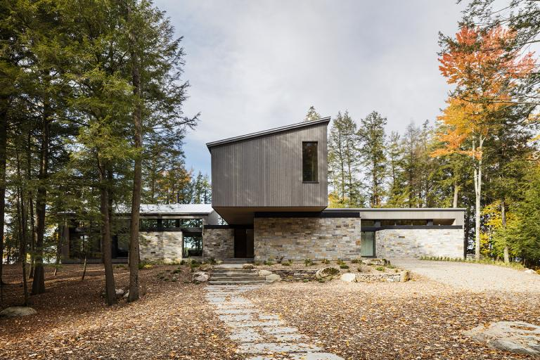 Maison de la pointe, Lac-Brome, 2019