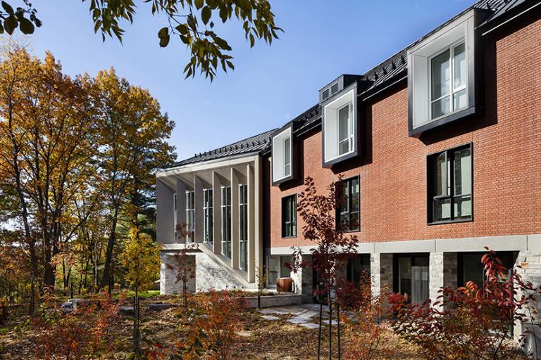 Maison d'étudiants, Bishop's College School, Lennoxville, 2020