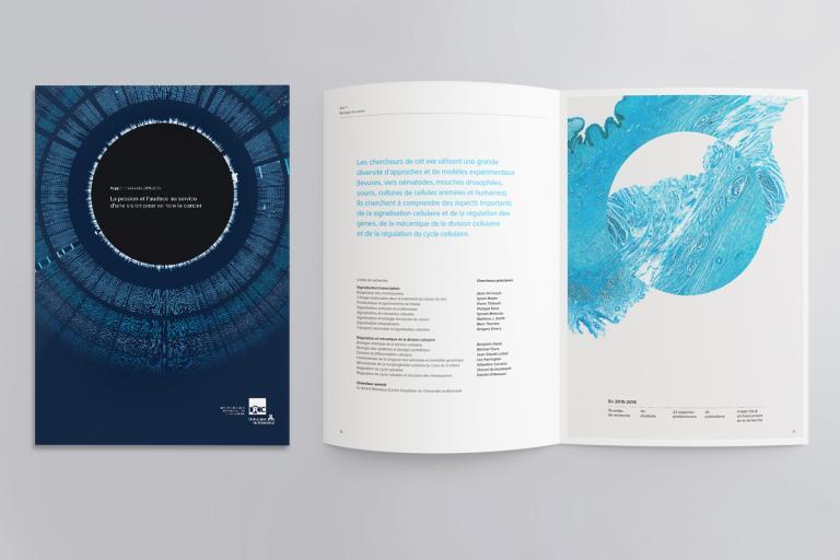 Rapport annuel, Institut de recherche en immunologie et en cancérologie, Montréal, 2015-2016