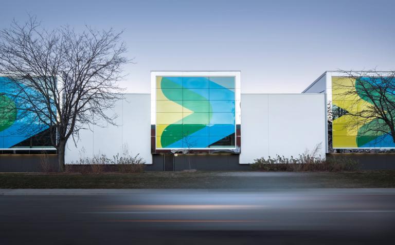 Stinson Transport Centre, Montréal, 2014