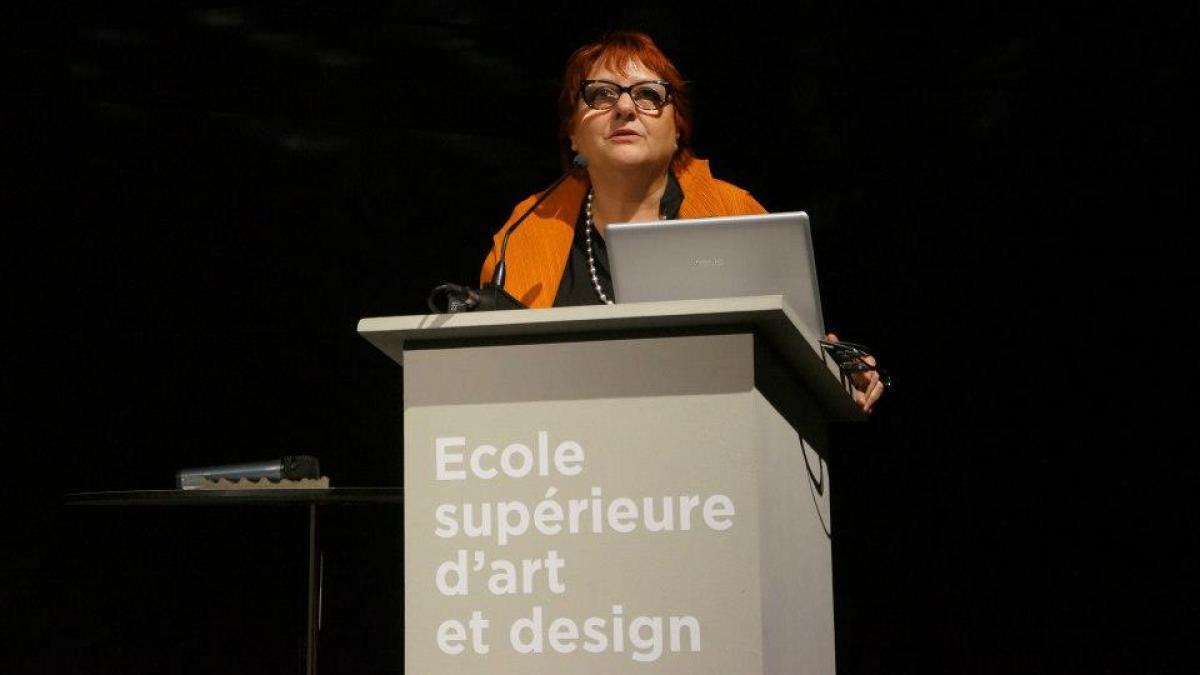 Josyane Franc, directrice des relations internationales, Cité du design
